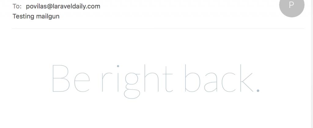 artisan tinker email