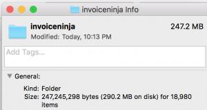 invoice ninja archive