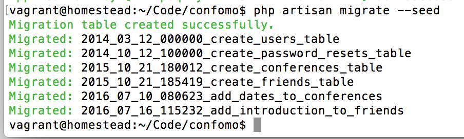 confomo database