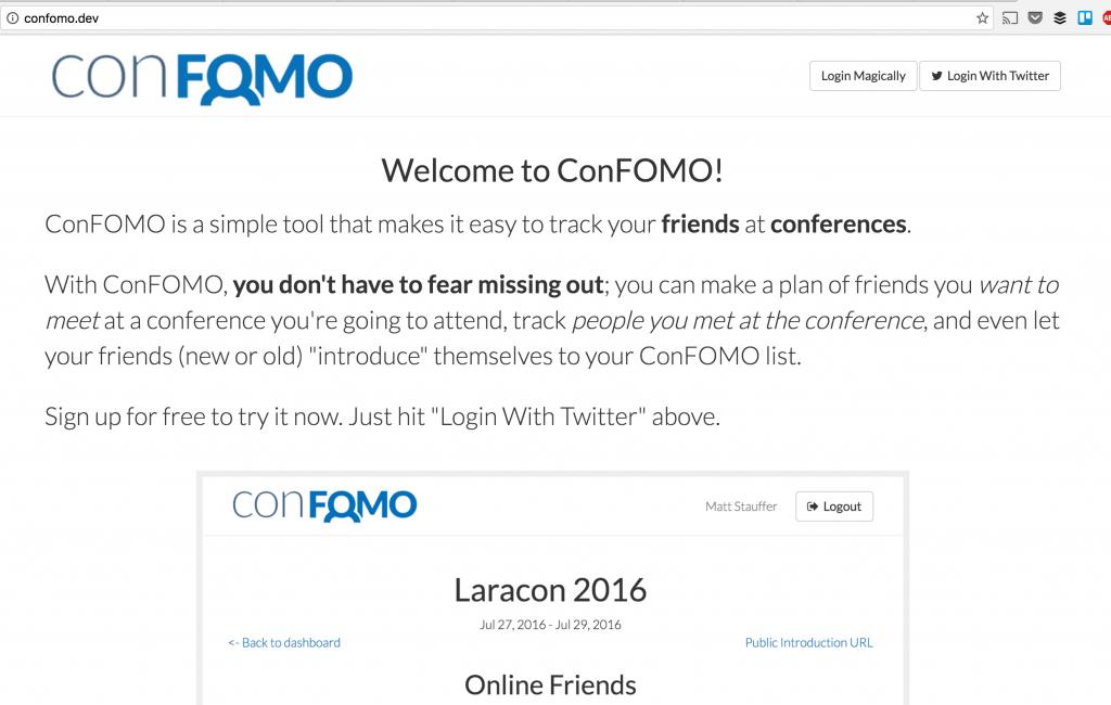 confomo homepage