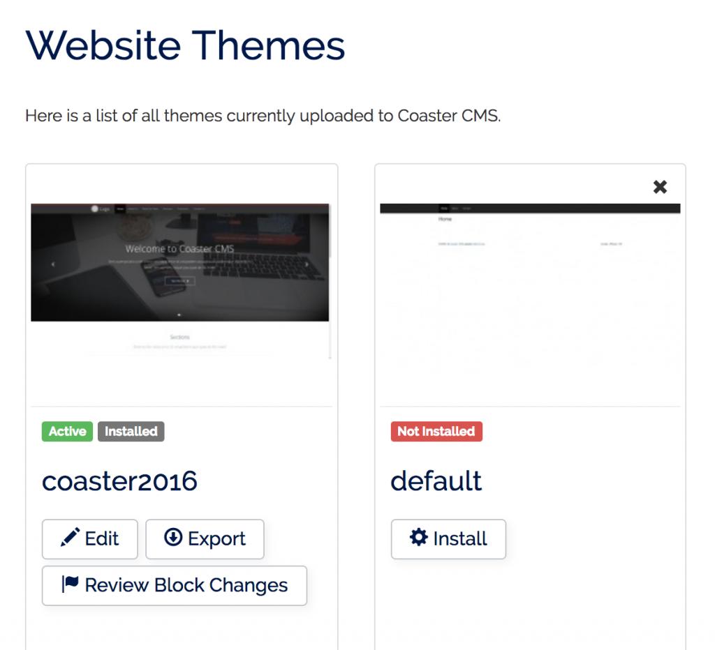 coaster cms themes