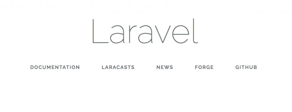 laravel new installation