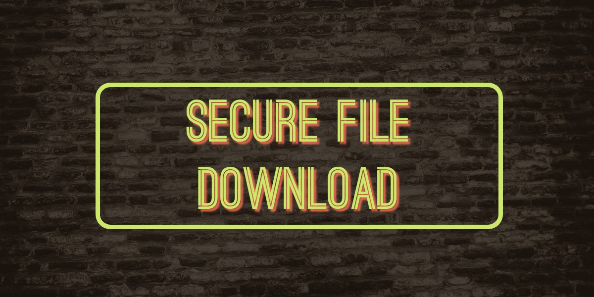 Laravel: Upload File and Hide Real URL for Secure Download under