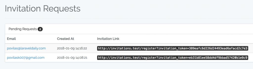 Laravel Auth: Make Registration Invitation-Only - Laravel Daily