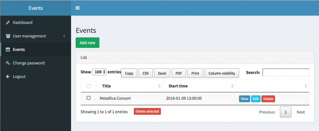 Demo-Project: Managing Timezones for Every User in Laravel