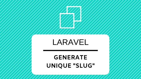 Generate Slug Keyword from Title: Laravel + AJAX - Laravel Daily