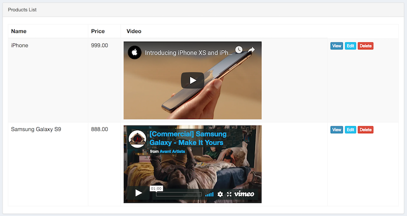 Embed and Parse Youtube/Vimeo Videos with Laravel Embed