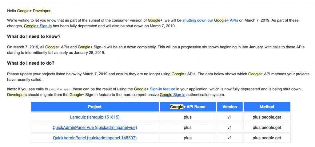 From Google+ API to Google Sign In with Laravel Socialite - Laravel