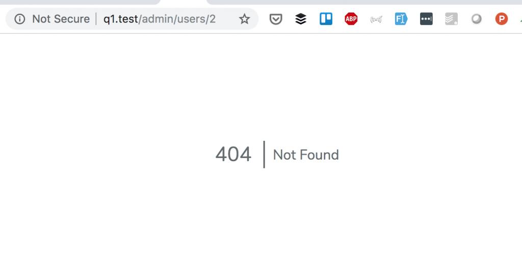 Laravel API 404 Response: Return JSON Instead of Webpage Error