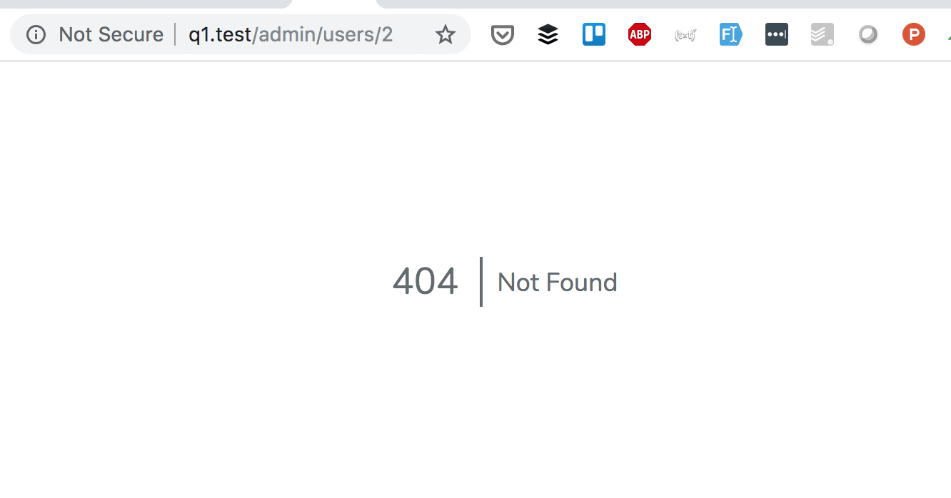 Laravel API 404 Response: Return JSON Instead of Webpage Error